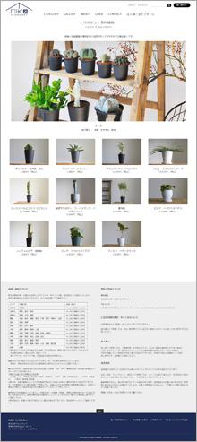 NIKO FLOWERS+様カテゴリーページ