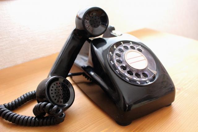 家のアナログ電話